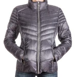 Guess Jackets & Coats - Guess Packable REVERSIBLE Puffer - XL - Blk/Grey